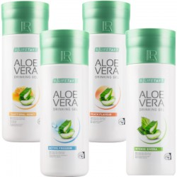 Czteropak Żel Do Picia Aloe Vera LR - Mix